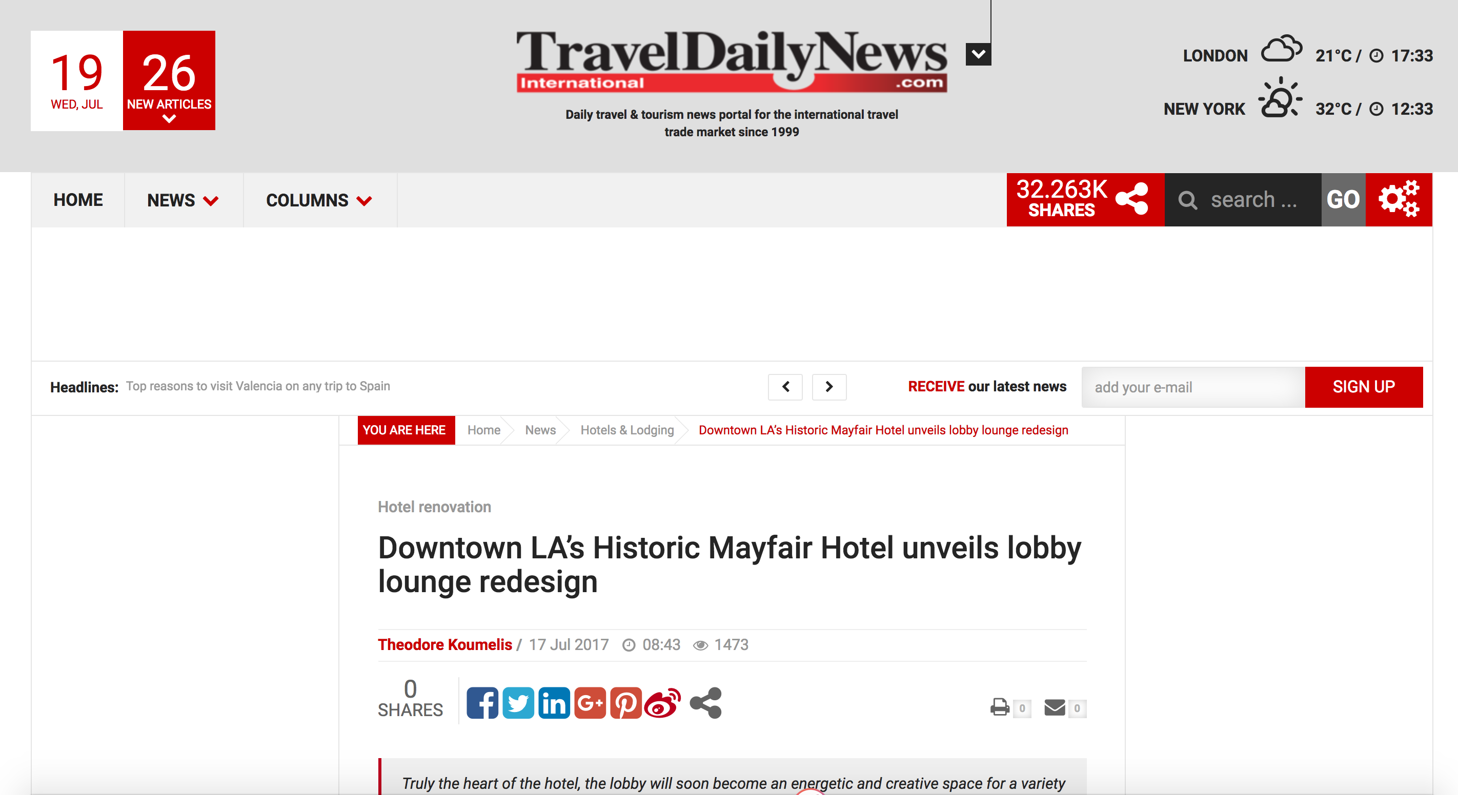 Hospitality Alliance Mayfair Hotel Los Angeles